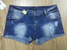 High waisted cut off jean shorts