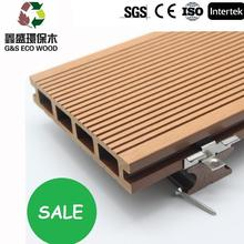 2017 good selling tongue and groove composite decking with low price wpc floor