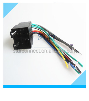 custom automobile 16 pin volkswagen car audio stereo wire harness custom automobile 16 pin volkswagen car audio stereo wire harness manufacturer