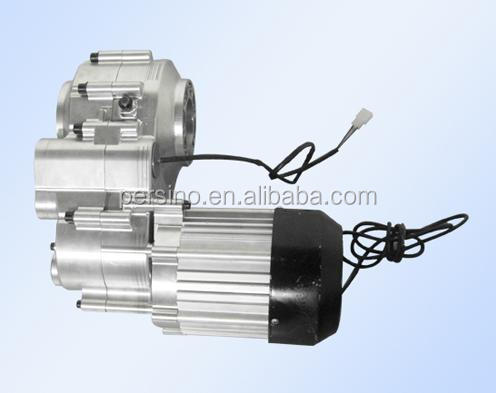 electric vehicle 1000w brushless dc motor with gearbox