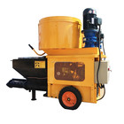 concrete spraying mixer mortar render spray machine for sale