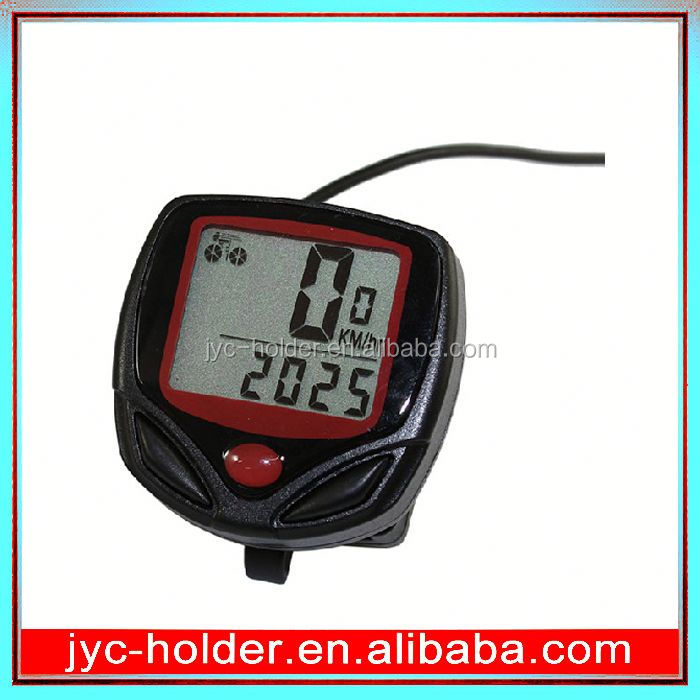 JH131 bicycle lcd cycle computer odometer speedometer