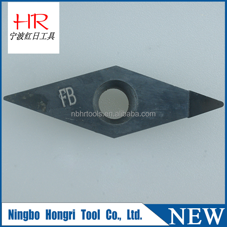 High work efficiency and facilitate fast clamping cbn/pcd diamond insert