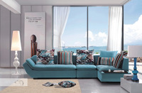 Modern unique furniture living room cornersofa set S019