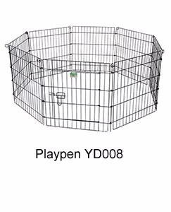foldable metal wire rabbit enclosure manufacturer in China