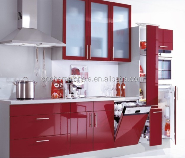 superior High Gloss Paint For Kitchen Cabinets #9: red lacquer kitchen cabinet red lacquer kitchen cabinet suppliers and at  alibabacom