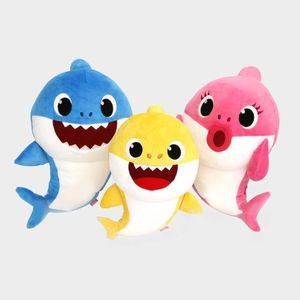 OEM china factory baby shark plush stuffed toy for kids