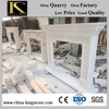 High Quality Chinese White Marble Fireplace KSFL179