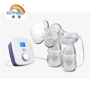 Baby Care Rechargeable nipple electric baby double breast pump enlargement