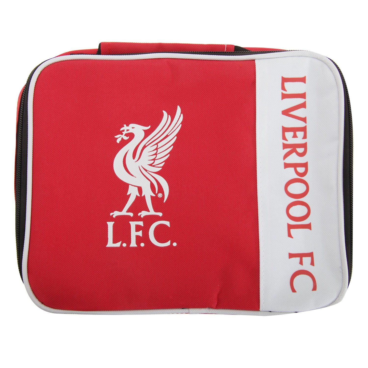 5a1b50a7b3 Liverpool FC Childrens Kids Official Wordmark Insulated Lunch Bag (One Size)  (Red