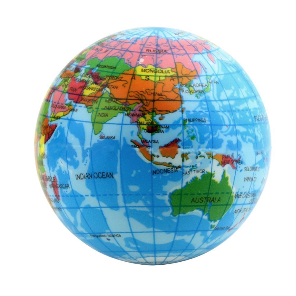 Earth World Map Globe Timekeeperwatches - Globe map of world