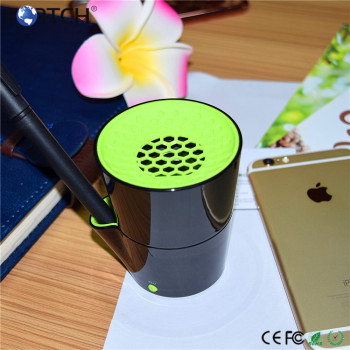 Stylish cup shape multifunction mini portable wireless speaker with perfect sound quality