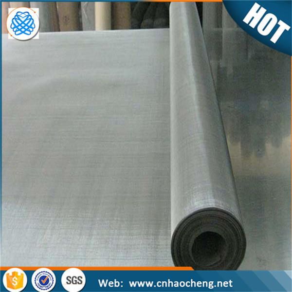 High quality 40*0.15mm pure nickel wire mesh screen/ metal mesh clothing