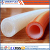 Soft silicone rubber hose of wire reinforced