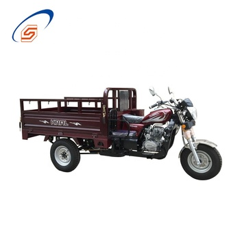 Commercial tricycle garbage collection three wheel passenger rickshaw