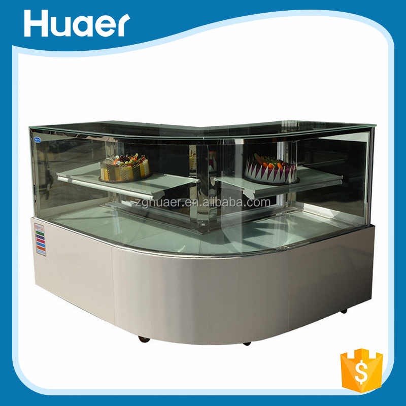 Cake Display Counter/Refrigerated Display Case Of Cakes/Cake Display Fridge