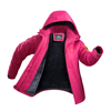 Polyester Waterproof 1500mm Ski Jacket Rain Jacket, Women Down Jacket