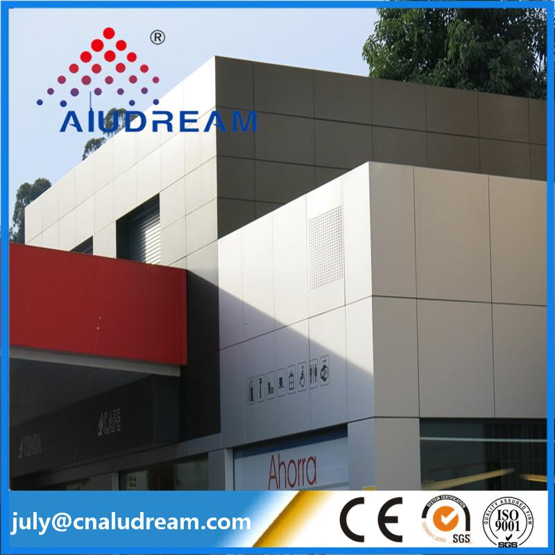 material de de la pared de paneles de aluminio compuesto