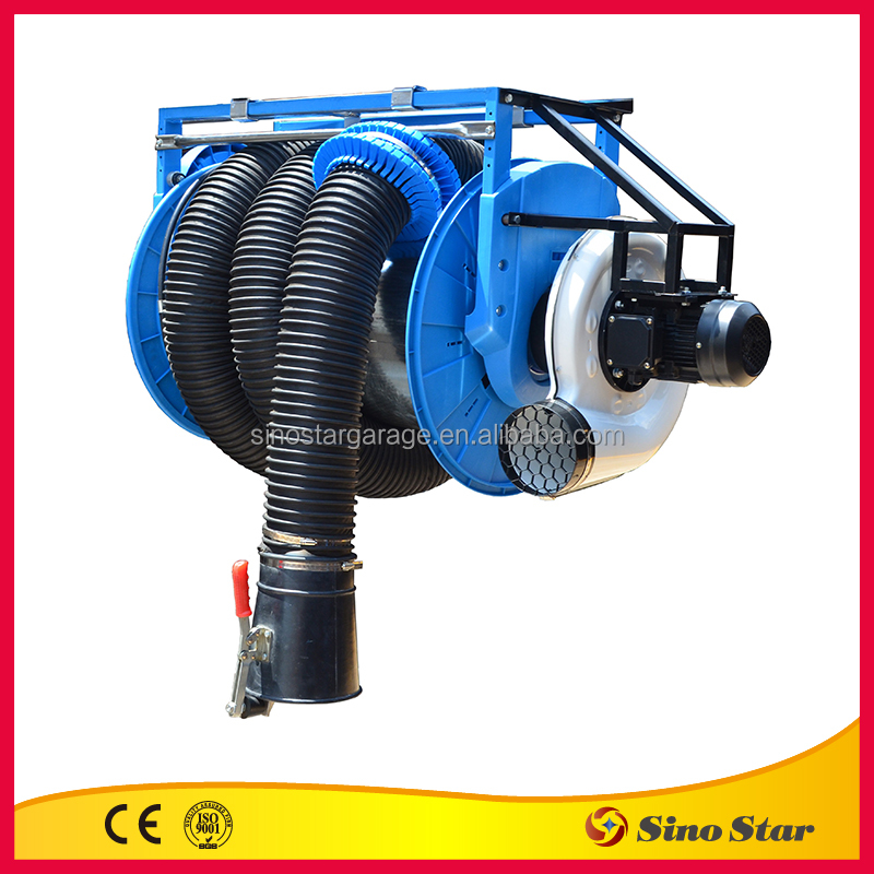 Manual Exhaust Hose Reel with motor /air hose reel (FS-200907608550W)
