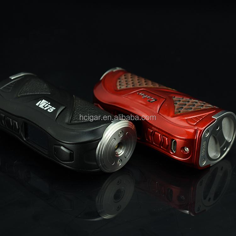 Hcigar Vt75 Color Box Mod Evolv Dna75c Chip 18650/26650 Rainbow E