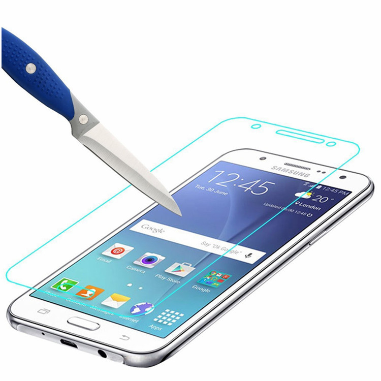 GzPuluz Glass Protector Film 50 PCS 9H 2.5D Tempered Glass Film for Galaxy C7 2017