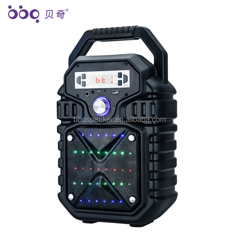2019 New arrival multifunctional large voice plastic karaoke speaker box own private mold speaker