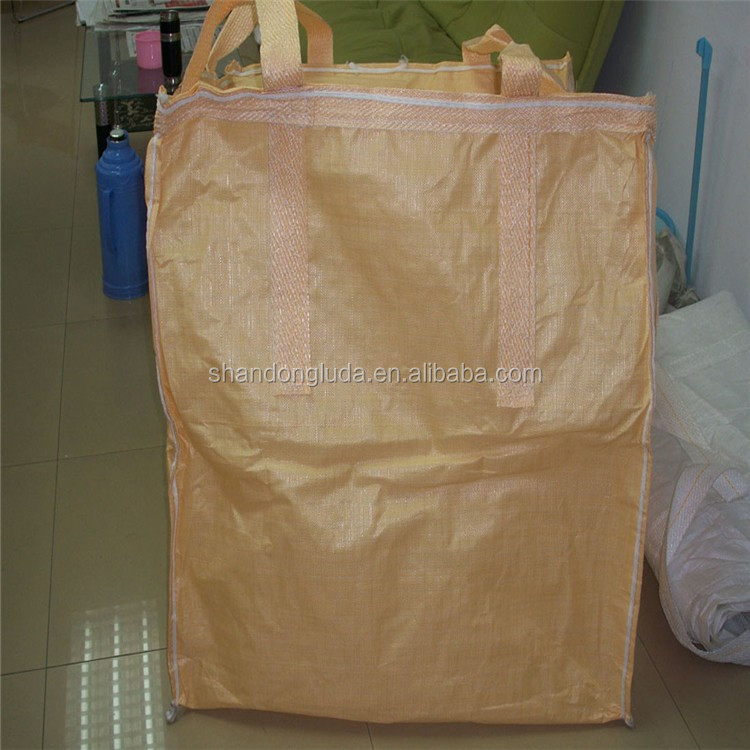 safety factor 6:1 pp bulk bag/big bag/pp jumbo bag for one ton 500kg 1 ton pp jumbo bags supplier