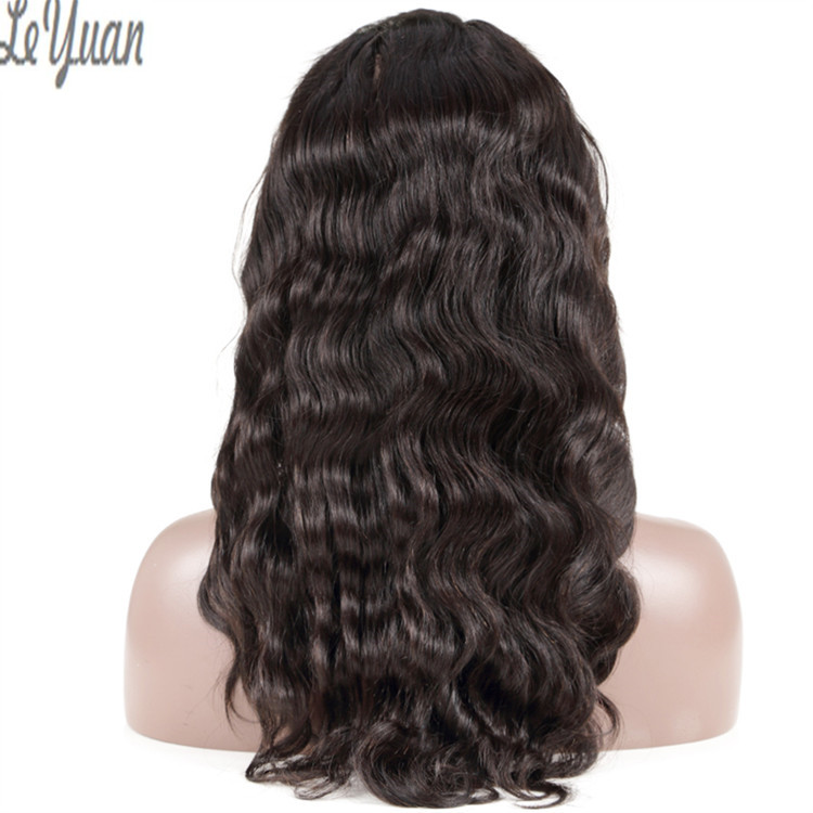unprocessed raw virgin custom logo box human cheap lace front wig with baby hair