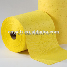 Juneng factory supply shaoxing chemical absorbent roll