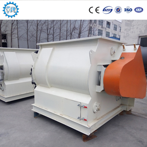 High Efficiency Twin Shaft Agravic paddle mixer for dry mortar dry powder in building industry