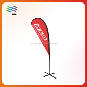 Custom Double Sided Printed Teardrop Flag Banner