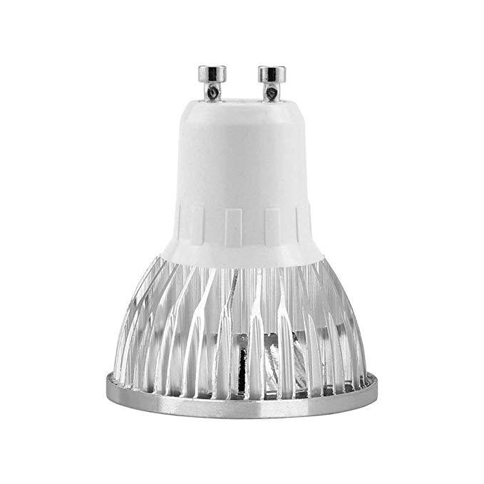 무료 공급 GU10 LED 전구 Dimmable GU10 기본 전구 따뜻한 화이트 3000K 4000K 6500K LED GU10 스포트 라이트 3W 4W 5W