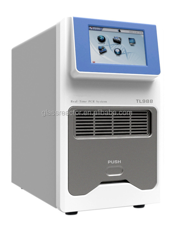 lab detection system real-time quantitative PCRThermal Cycle 4 channel Real Time PCR & Peltier-based Thermal Cycler TL-988