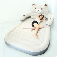 Factory Household portable inflatable bed Cartoon Bear floor