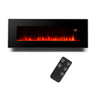 50 Inch decor flame modern decorative remote control Wall Recessed Wall mounted Electric Fireplace