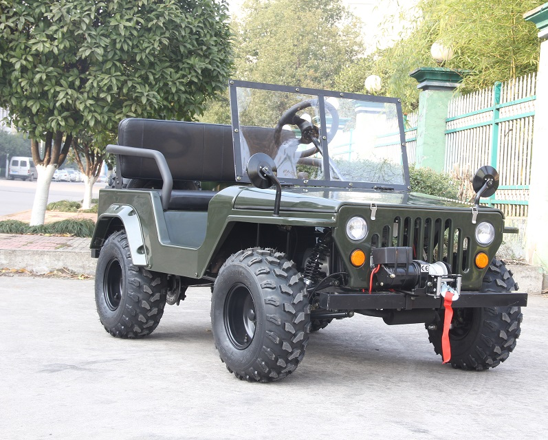 2018 Newest 110cc 125cc 150cc Mini Jeep With Ce Approved For Sale