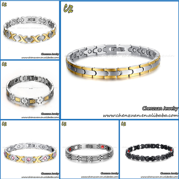 Fashion Kinetic Energy Bracelet Jewelry Positive Germanium Sports