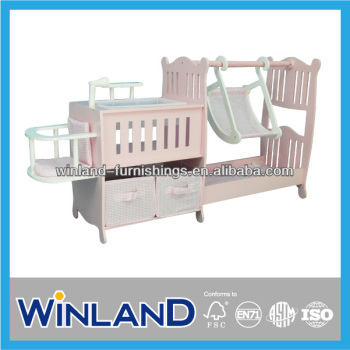 Multi Function Baby Doll Furniture Cribs Play