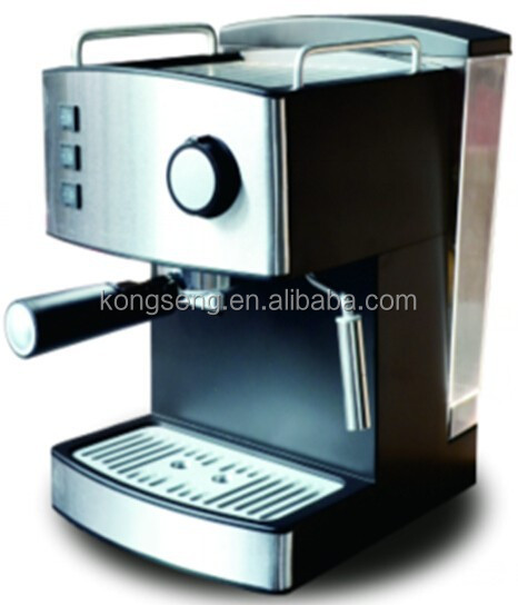 2017 Hot sell 15bar Espresso cappuccino coffee Maker 1.6L CE EMC CB GS