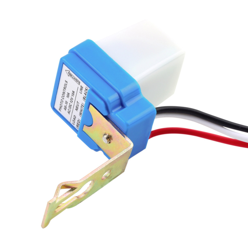 As 10 12v 24v 6a 10a Electric Photocell Light Switch Buy 24vac Wiring Diagram Product On