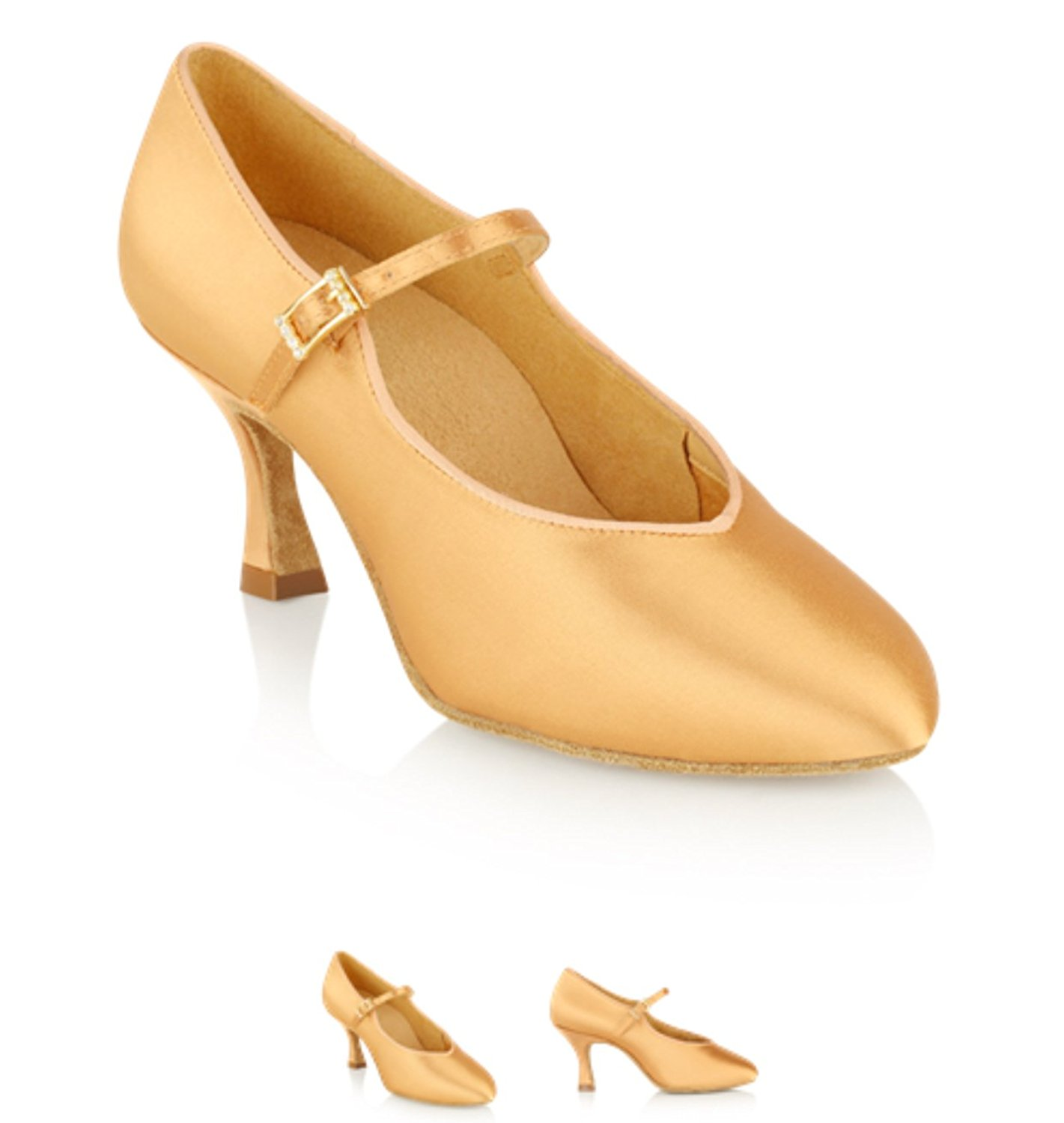 1bcd862800de Get Quotations · Ray Rose 146 Ballroom Smooth Ladies Dance Shoes (2 Inch  Flared Heel)