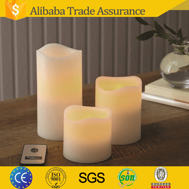 pillar shaped electronic home reflections flameless led candle