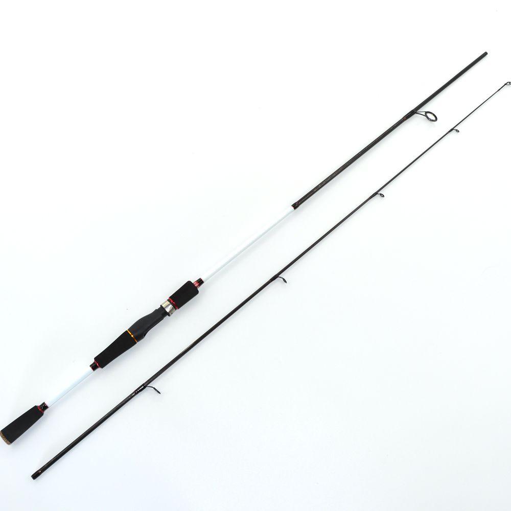 TAKEDO 2019 new cheap fishing carbon fiber 1.80m 2.10m 2.40m 2.70m 3.00m Medium power bass spin ning rods