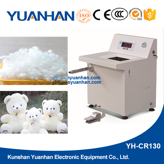 Automatic cotton filler floccule filling machine for stuffed soft toys
