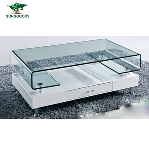 Top Quality Acrylic Coffee Table Glass Coffee Table Set Modern