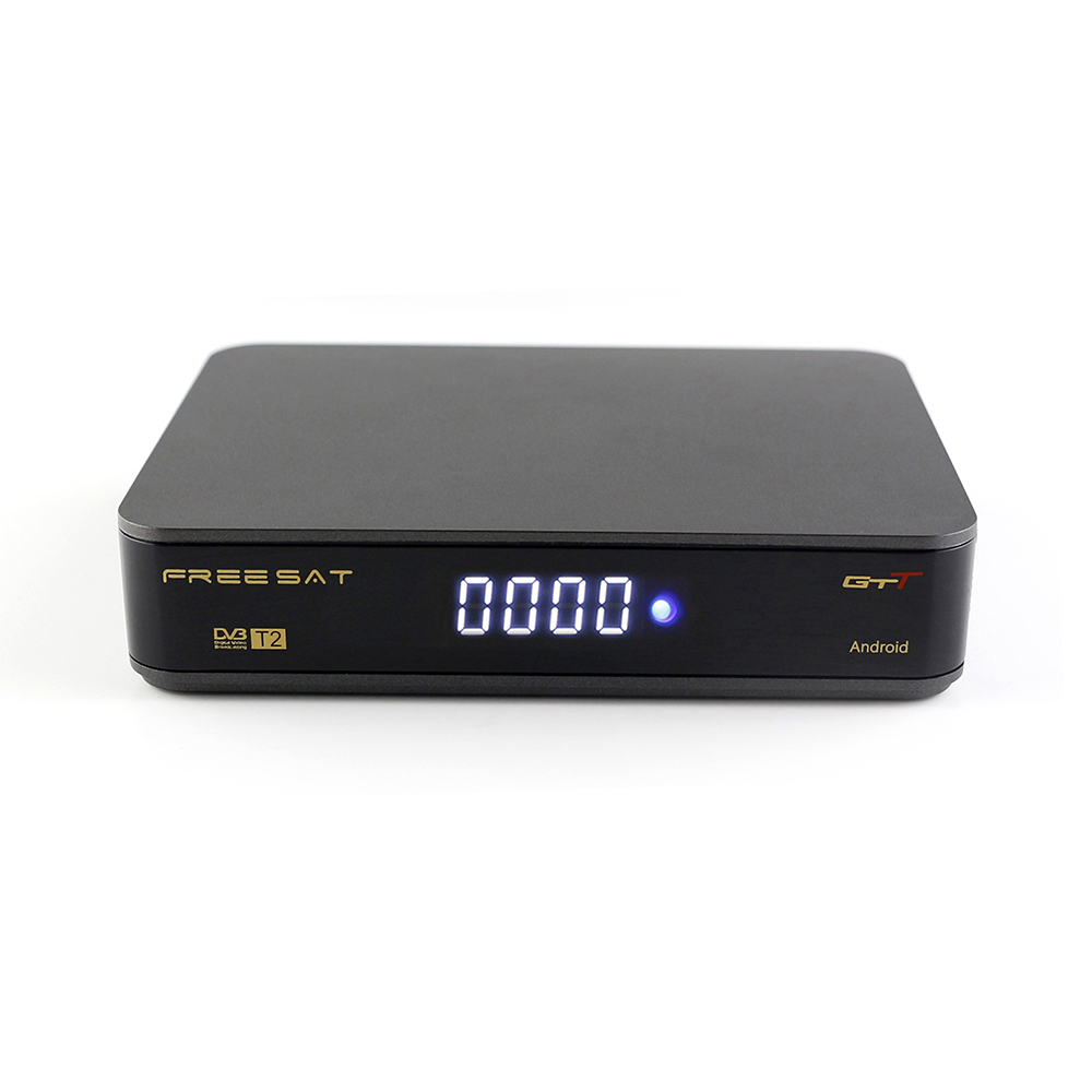 Hot selling new model android <strong>tv</strong> <strong>box</strong> digital satellite receiver GTT dvb-t2 receiver <strong>amlogic</strong> S905D