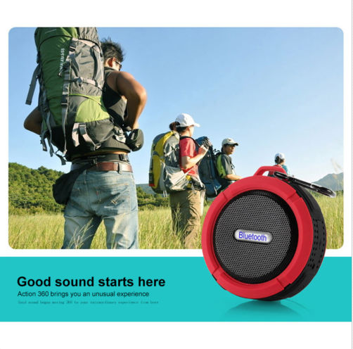 BTS06 updated top selling promotion gift waterproof mini 18 inch pa speaker