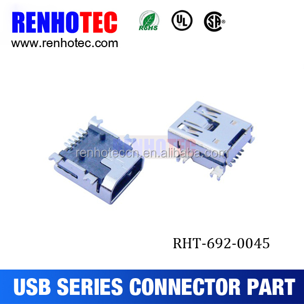 8 pin mini ethernet usb connector