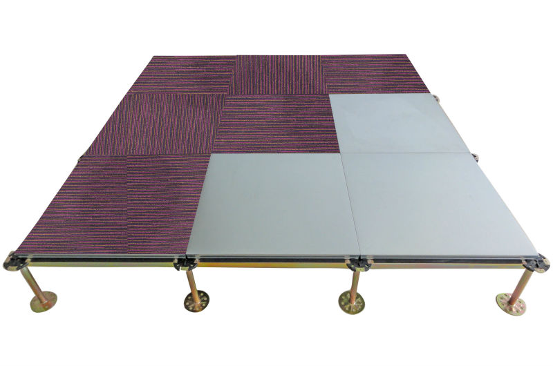 hot sale and popular match with carpet Steel Encased Wood Core Raised Access Floor FS800~FS1500 used with carpet tile hot sale, View raised floor,