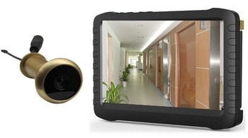 front door camera monitorWireless Front Door Peephole Camera With 5 Hd Lcd Screen Monitor